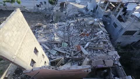 Israel strikes Hamas positions across blockaded Gaza