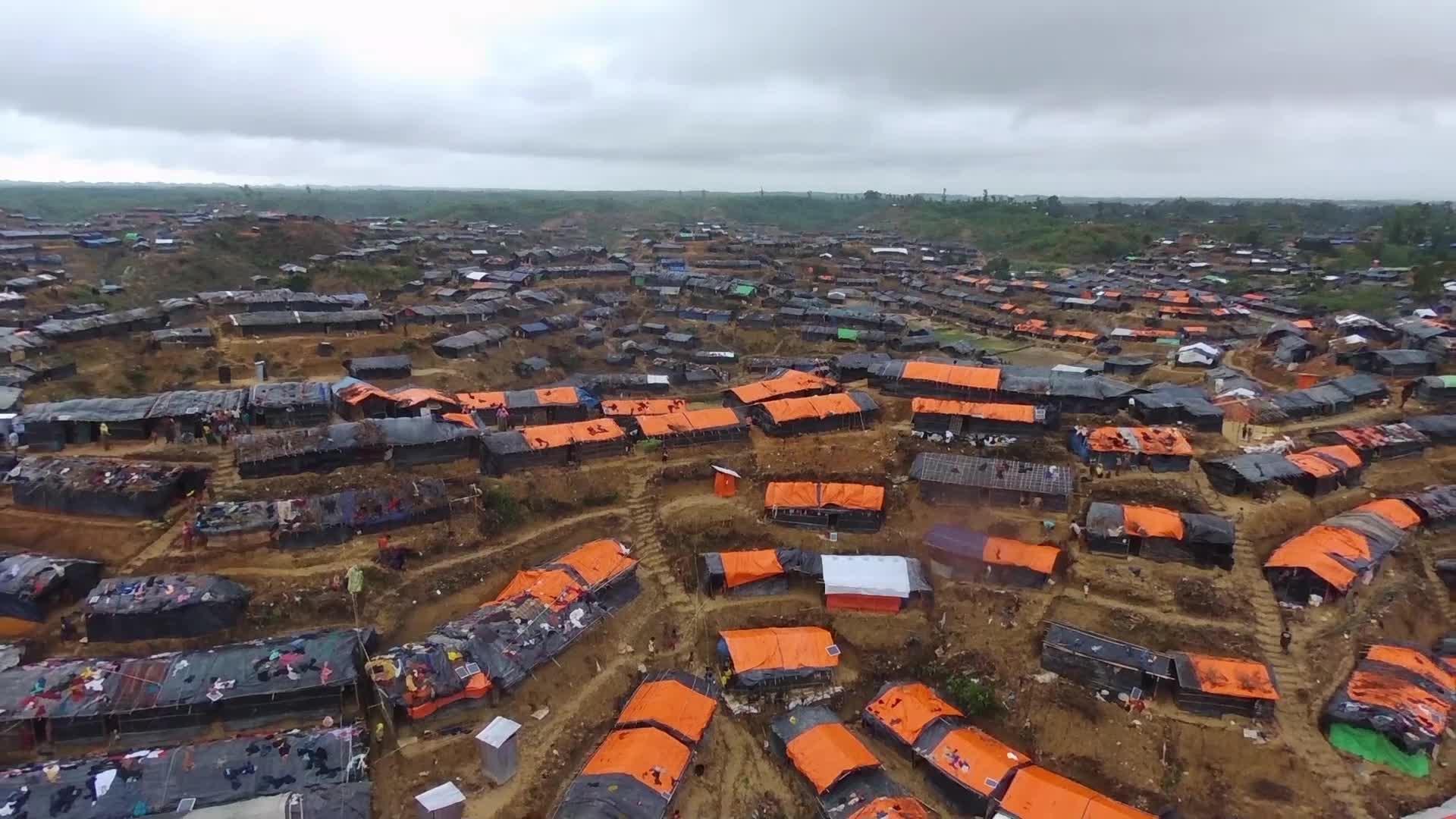 Rohingya Refugees At Hakim Para Refugee Camp